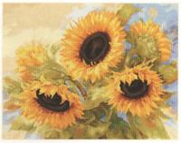 Sunflower Dreams Cross Stitch Kit by Alisa