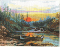 Near the river Cross Stitch Kit by Alisa