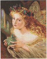 Fairy Cross Stitch Kit by Alisa