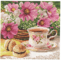 Morning Tea Cross Stitch Kit by Alisa