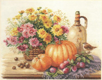 Still life with Pumpkin Cross Stitch Kit by Alisa