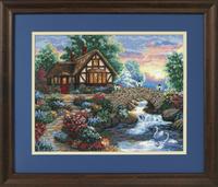 Twilight Bridge Cross Stitch Kit