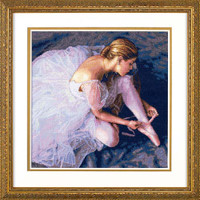 Ballerina Beauty Cross Stitch Kit