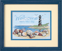 Welcome Each New Day Cross Stitch Kit