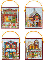 Enchanted Ornament Stocking Cross Stitch Kit