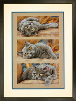 Max The Cat Cross Stitch Kit By Dimensions