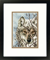 Wolf Cross Stitch Kit By Dimensions