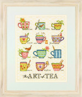 The Art Of Tea Cross Stitch Kit by Dimensions