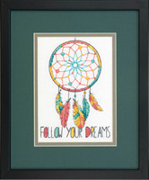 Dreamcatcher Cross Stitch Kit by Dimensions