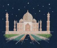 "Agra By Night ""Glow in the Dark"" Cross Stitch Kit By DMC"