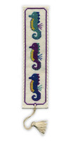 Seahorses Bookmark Cross Stitch Kit by Textile Heritage