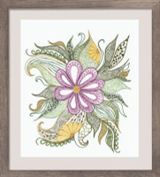 Lovely Flower Emboidery Kit By Riolis