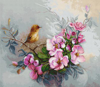 Little Birdie Cross Stitch Kit by  Luca S