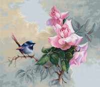 Bluebird Cross Stitch Kit By Luca S