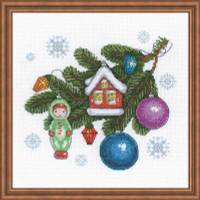 Beloved Decorations Cross Stitch Kits by Riolis