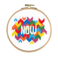 Now Counted Cross Stitch Kit By DMC