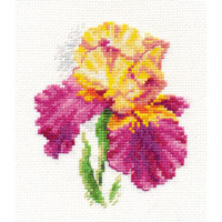 irises Cross Stitch Kit by Alisa