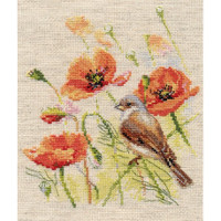 Little Bird Cross Stitch By Alisa