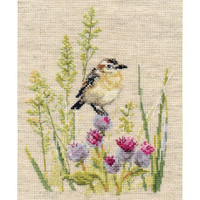 Little Bird Whihchat Cross Stitch Kit By Alisa