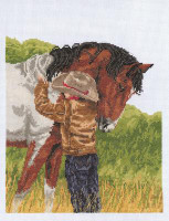 Horse Crazy Cross Stitch Kit by Janlynn