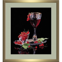 Red Currant Cross Stitch Kit By Oven
