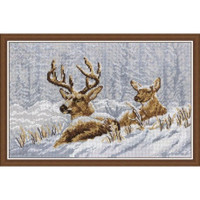 Deers Cross Stitch Kit by Oven