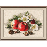 Still Life With Apples Cross Stitch Kit by Oven