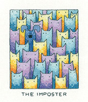 The Imposter Cross Stitch Kit By Heritage