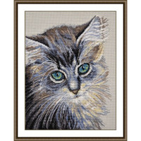 Green Eyed Miracle Cross Stitch Kit By Oven