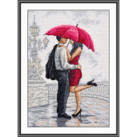 In the arms of the rain Cross stitch Kit By oven