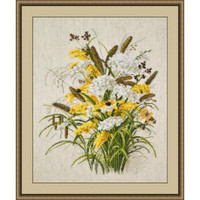 Summer Bouquet Cross Stitch Kit by Oven