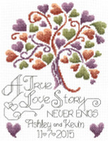 Love Story Wedding Cross Stitch Chart
