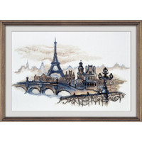 Paris Silhouettes Cross Stitch Kit by Oven