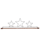 Fabric Holder with 16inch dowel  by Ackfeld