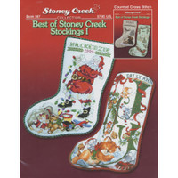 Christmas Stockings 1 Chart Booklets by Stoney Creek