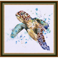 Greatness of the Turtle Cross Stitch Kit by Oven