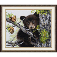 Bear Cross Stitch Kit by Oven