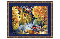Autumn Cross Stitch Kit by Golden Fleece