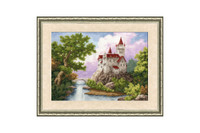 Castle Cross Stitch Kit by Golden Fleece