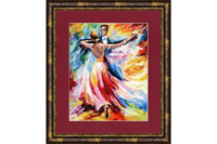 Dance of love Cross Stitch Kit by Golden Fleece