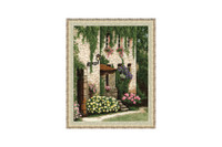 Emerald Lace Cross Stitch Kit by Golden Fleece