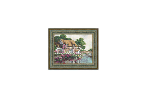 House from childhood Cross Stitch Kit by Golden Fleece