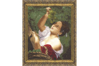 Italian midday Cross Stitch Kit by Golden Fleece