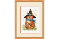 Kitten Cross Stitch Kit by Golden Fleece