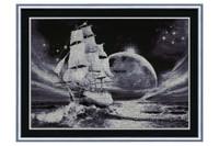 Moon Way Cross Stitch Kit by Golden Fleece