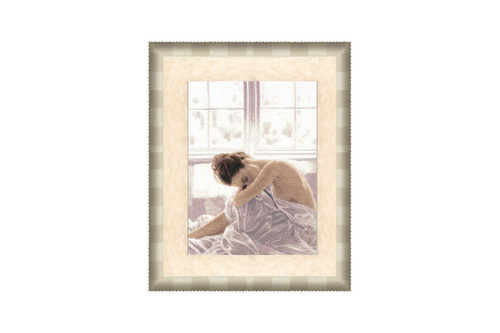 Morning Cross Stitch Kit by Golden Fleece