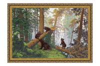 Morning in the pine forest Cross Stitch Kit by Golden Fleece