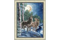 Night song Cross Stitch Kit by Golden Fleece