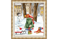 Taste of childhood Cross Stitch Kit by Golden Fleece