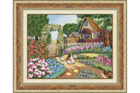 Visiting Grandmother Cross Stitch Kit by Golden Fleece